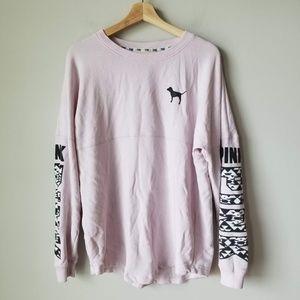 Victoria's Secret Pink Doggie Oversized Shirt Tee